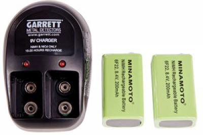 Garrett Battery Charger Kit 9V